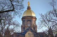 The Golden Dome in Spring